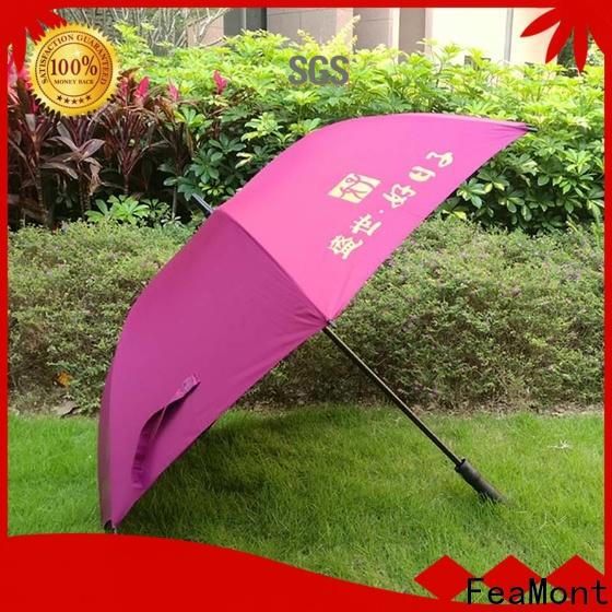 FeaMont promotion uv umbrella supplier for exhibition