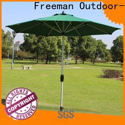 stable garden umbrella doubletop in different color for trade show