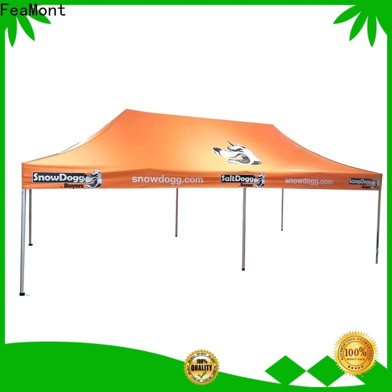 FeaMont lifting pop up canopy tent certifications for disaster Relief