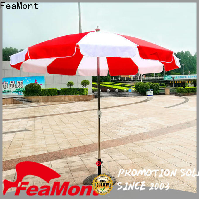 FeaMont highstrong beach parasol for event