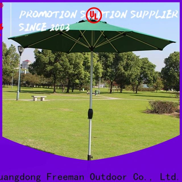 quality white garden umbrella double-top in different shape