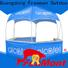 FeaMont exhibition dome kiosk application for disaster Relief