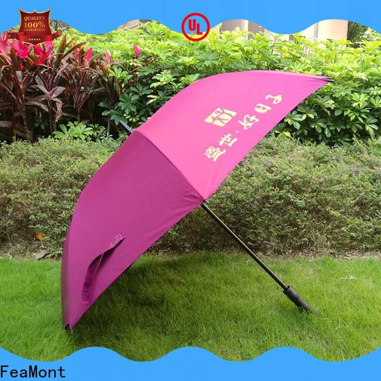 FeaMont golf umbrella design supplier for engineering