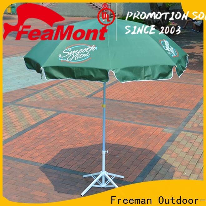 FeaMont pole big beach umbrella marketing for wedding