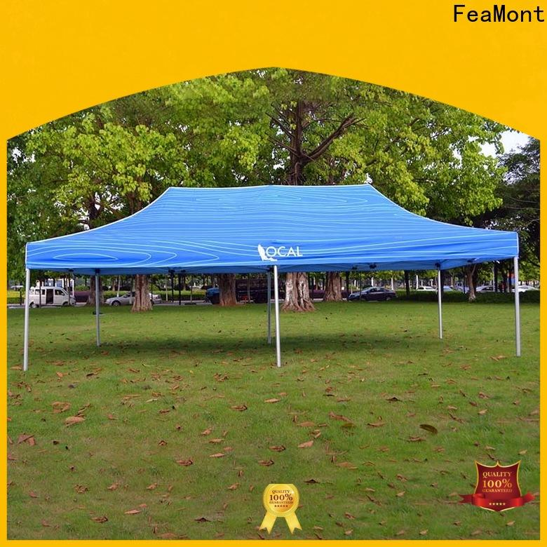 FeaMont affirmative lightweight pop up canopy certifications for disaster Relief