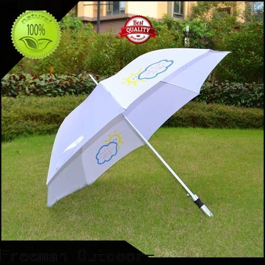 printed new umbrella handle effectively for sports