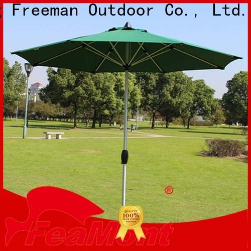 FeaMont base black garden umbrella in different shape