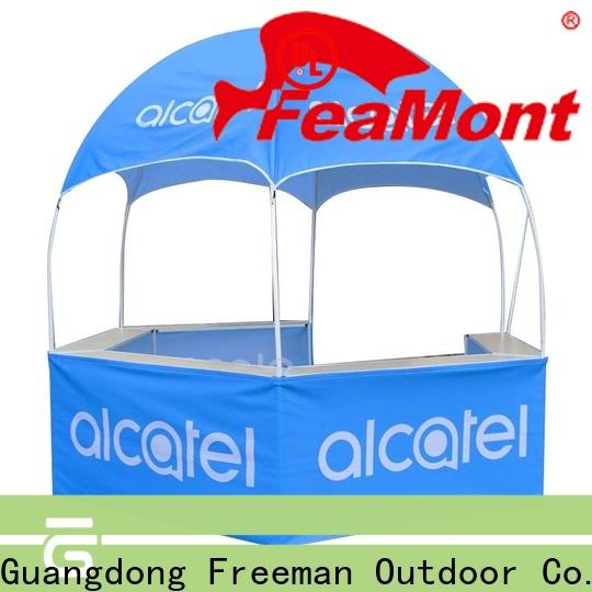 FeaMont powder dome display tent in-green for disaster Relief