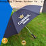 fine- quality canvas umbrella customized sensing for exhibition