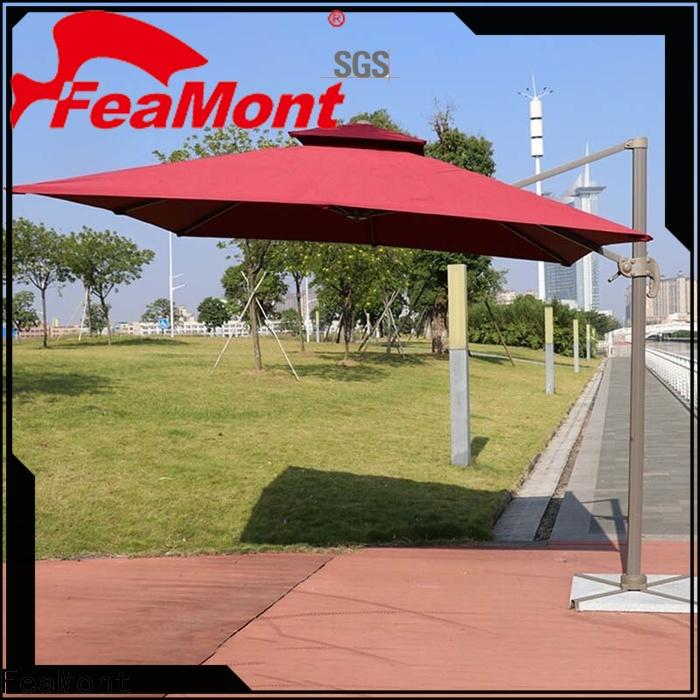 FeaMont printed grey garden umbrella solutions for sporting