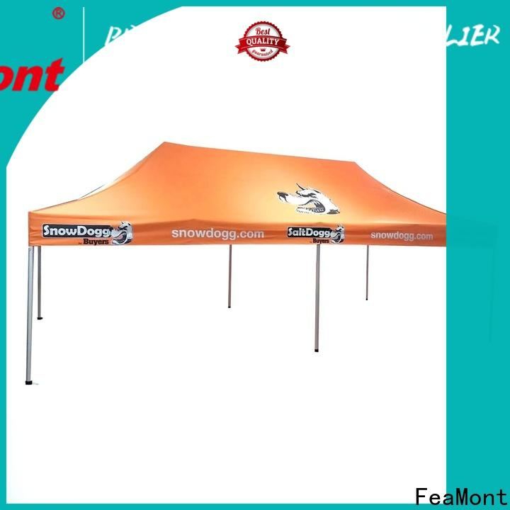 FeaMont affirmative pop up canopy in different shape for outdoor exhibition