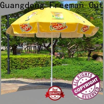 FeaMont printing black and white beach umbrella type for wedding