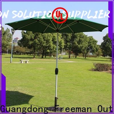 FeaMont newly outdoor umbrella sensing for exhibition