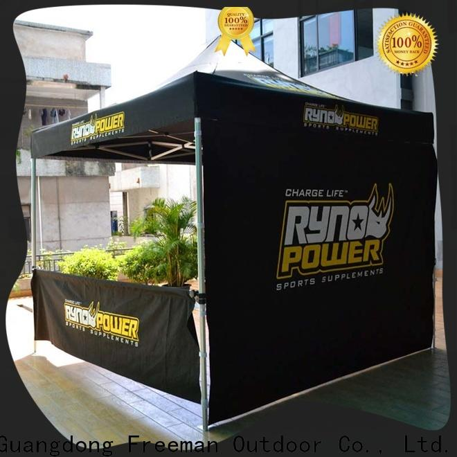 FeaMont tube gazebo tent production for advertising