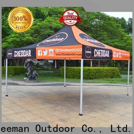 FeaMont colour easy up tent in different shape for sporting