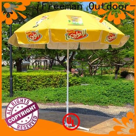 waterproof red beach umbrella pole China for exhibition
