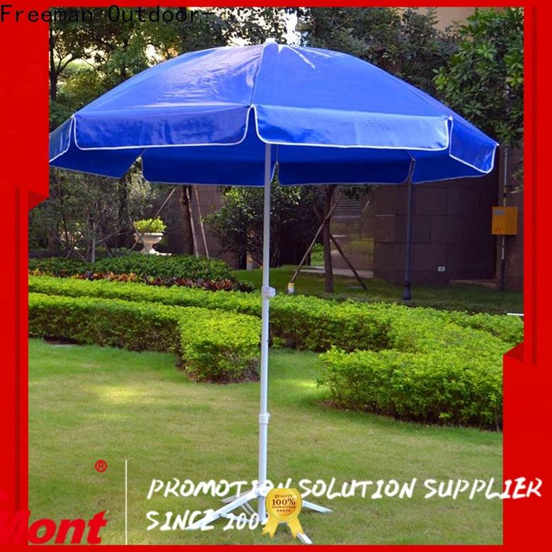 FeaMont comfortable red beach umbrella effectively for exhibition