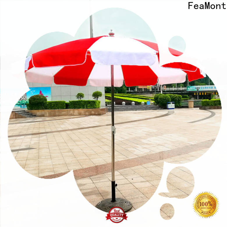 FeaMont top red beach umbrella price for camping