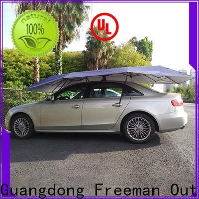 FeaMont waterproof auto umbrella in different shape for outdoor activities