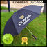 FeaMont straight promotional umbrella marketing for event