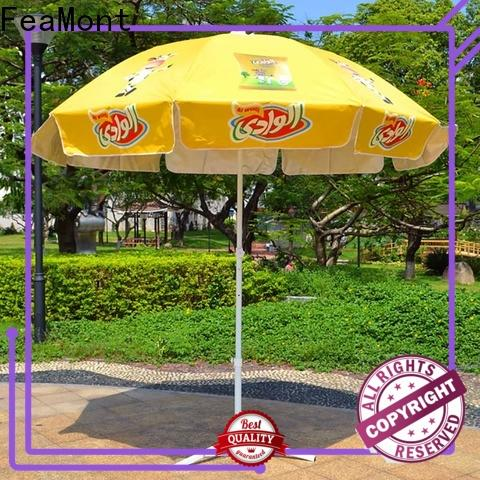 FeaMont inexpensive heavy duty beach umbrella widely-use for advertising