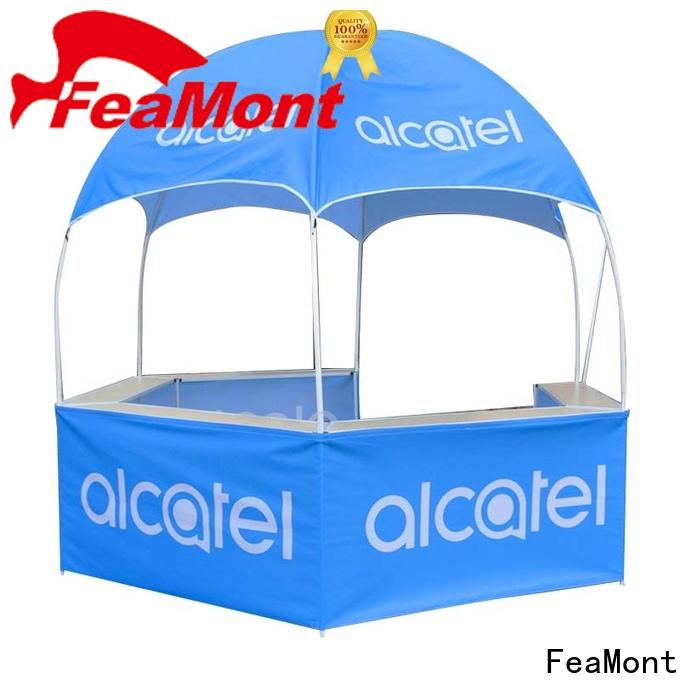 FeaMont customized dome kiosk application for sports