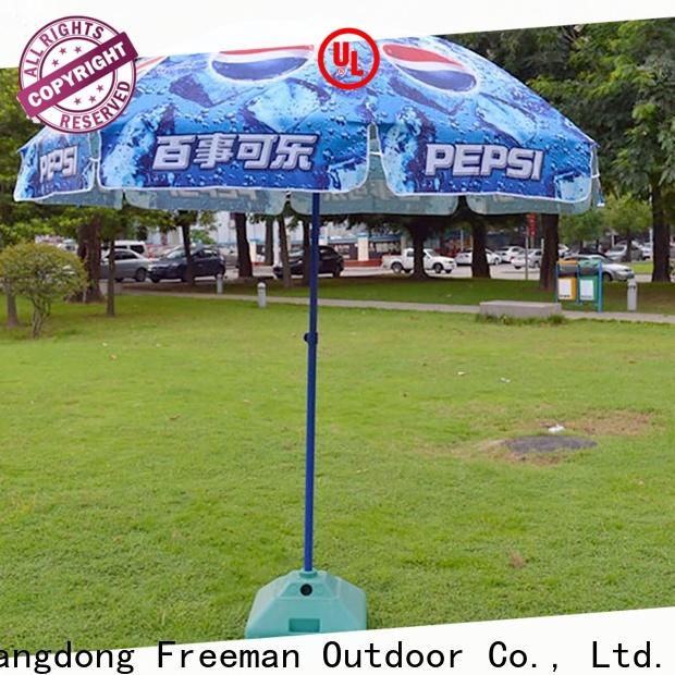 outstanding red beach umbrella quality for-sale for advertising
