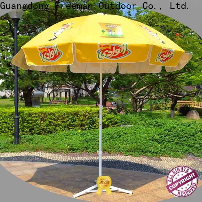 FeaMont inexpensive red beach umbrella effectively for sports