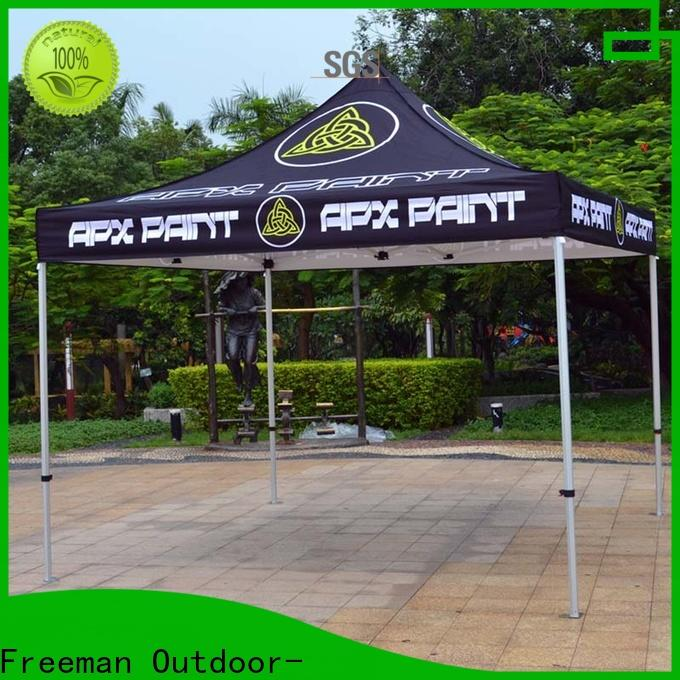 FeaMont colour advertising tent production for sport events