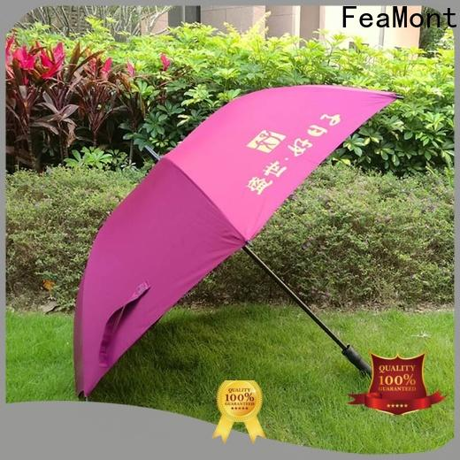 FeaMont stable promotional umbrellas owner for advertising