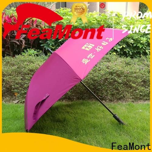 FeaMont advertising cool umbrellas sensing for disaster Relief