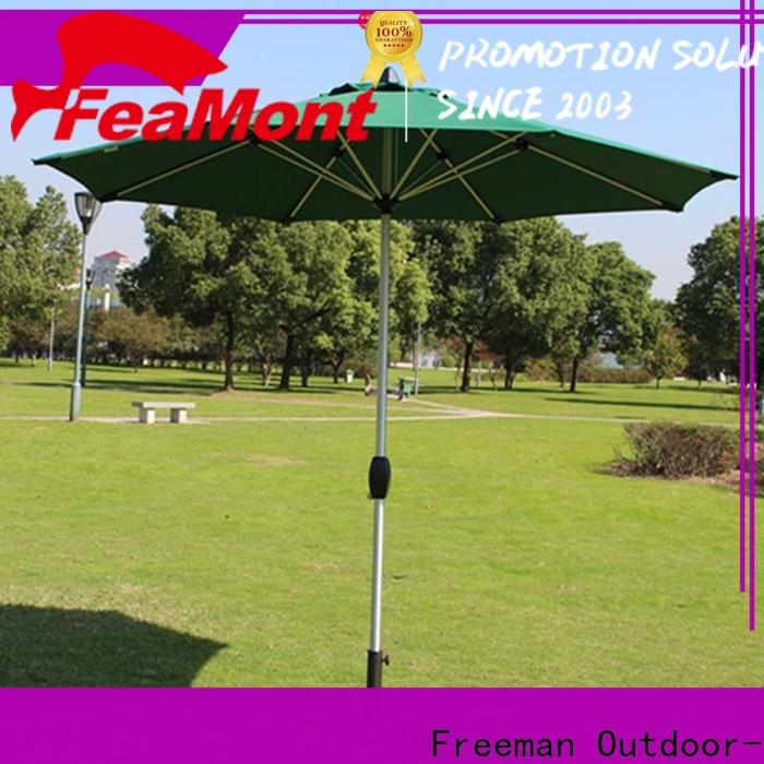 FeaMont stable grey garden umbrella for event