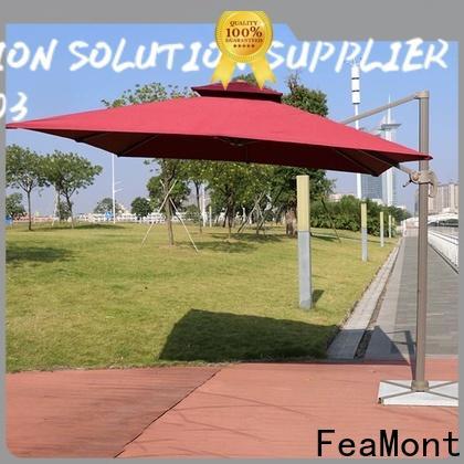 FeaMont printed black garden umbrella wholesale for engineering