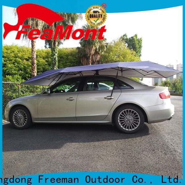 FeaMont Silver car umbrella for sport events