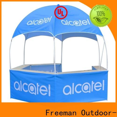 durable dome display tent kiosk in-green for sports