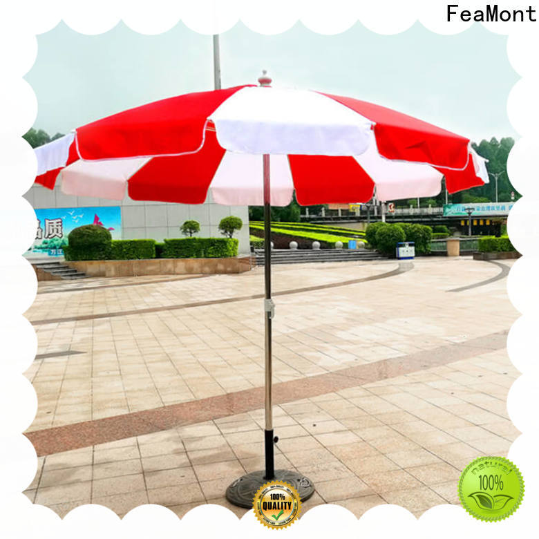 FeaMont advertising best beach umbrella for-sale for wedding