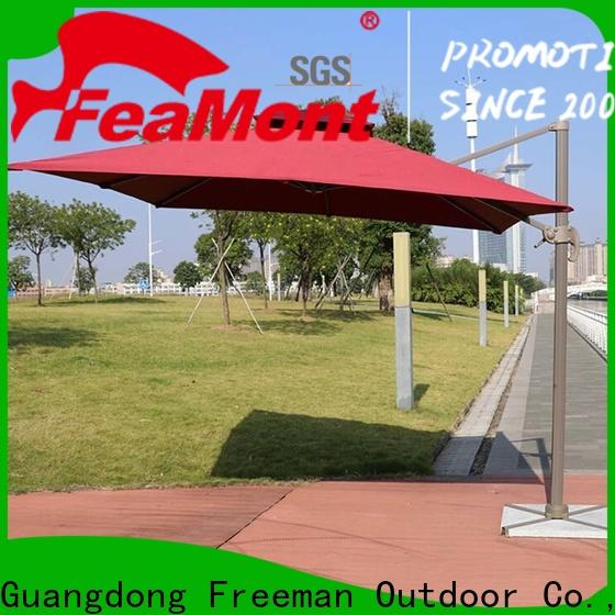 FeaMont square wind up garden umbrella for engineering