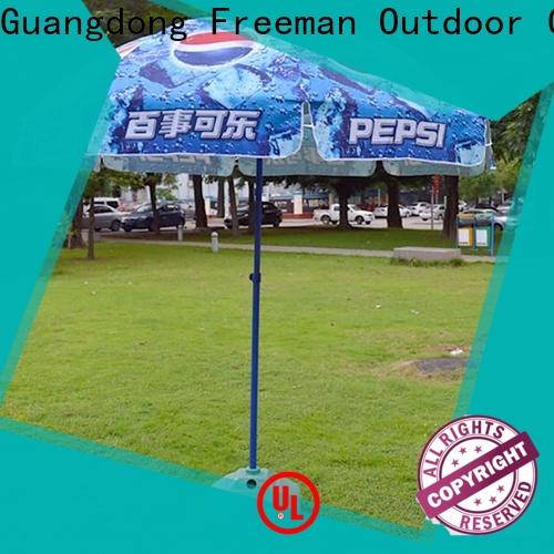 FeaMont inexpensive beach parasol supplier for advertising