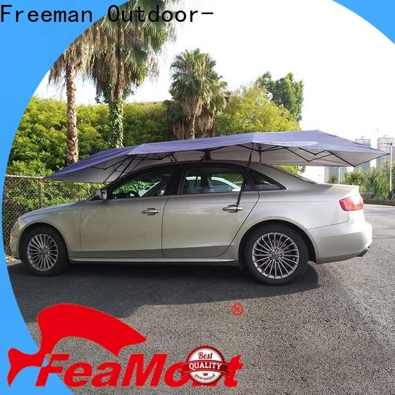 FeaMont wholesale auto umbrella in different color for outdoor exhibition