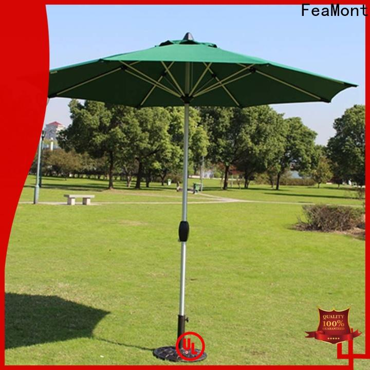 FeaMont cranking garden umbrella production for sport events