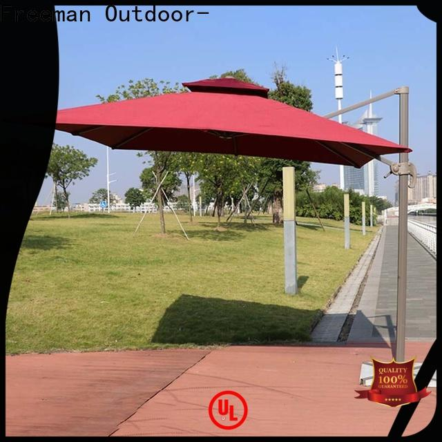 FeaMont printed grey garden umbrella cancopy for sport events