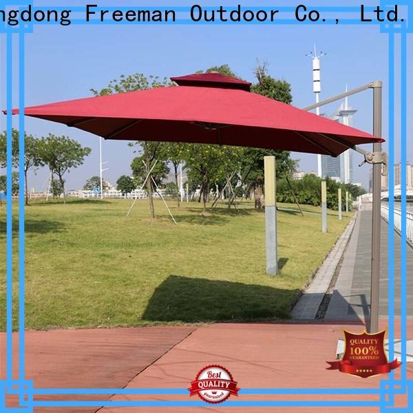 FeaMont doubletop sun garden umbrella in different color for camping