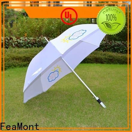 FeaMont printed umbrella design marketing for exhibition