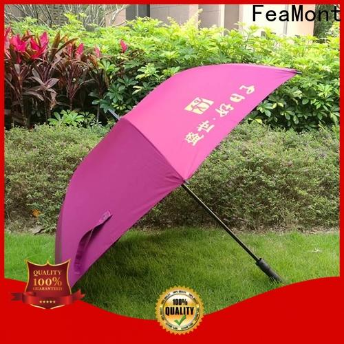 FeaMont ribs promotional umbrella sensing for sports