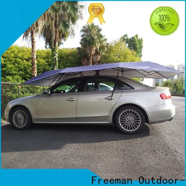 FeaMont UV-proof car umbrella in-green