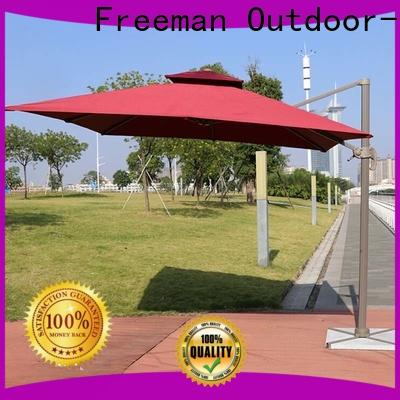 FeaMont high-quality white garden umbrella package for advertising