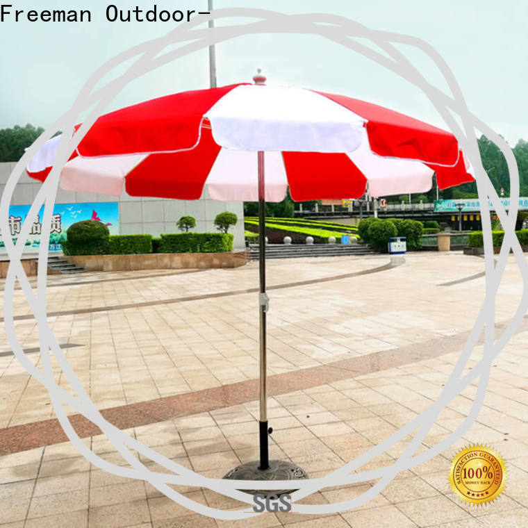 FeaMont inexpensive foldable beach umbrella owner