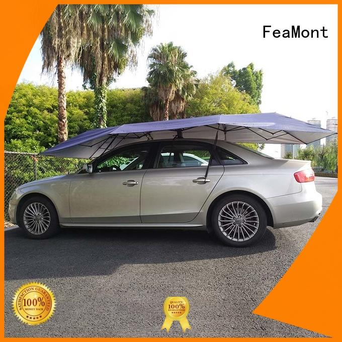 FeaMont fiberglass car umbrella cover in-green for trainning events