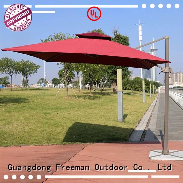 high-quality wind up garden umbrella standards in different color for camping