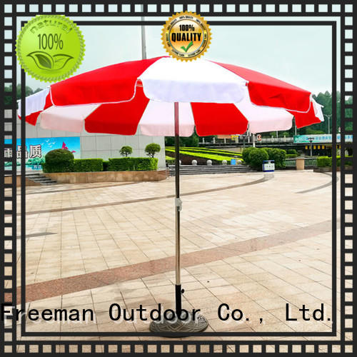FeaMont nice big beach umbrella supplier for exhibition